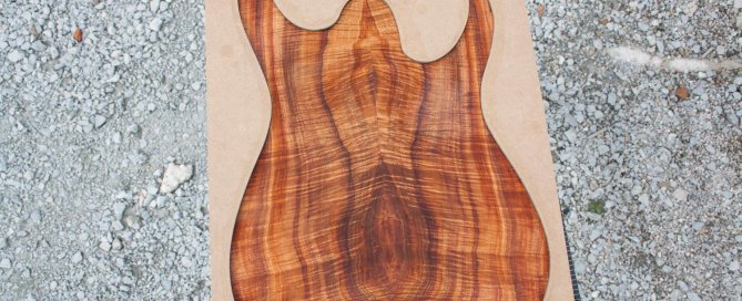 Rusti guitars - Curly Koa