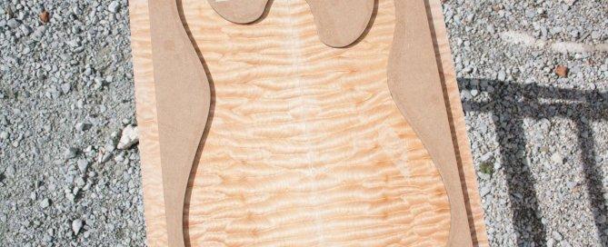 Rusti guitars - Quilted Maple