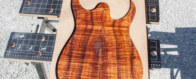 Culry Koa Mastergrade guitar rusti guitars custom luthier luthiery