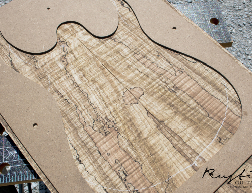 Spalted\flamed Maple