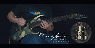 Rusti guitars custom abstract 2 post