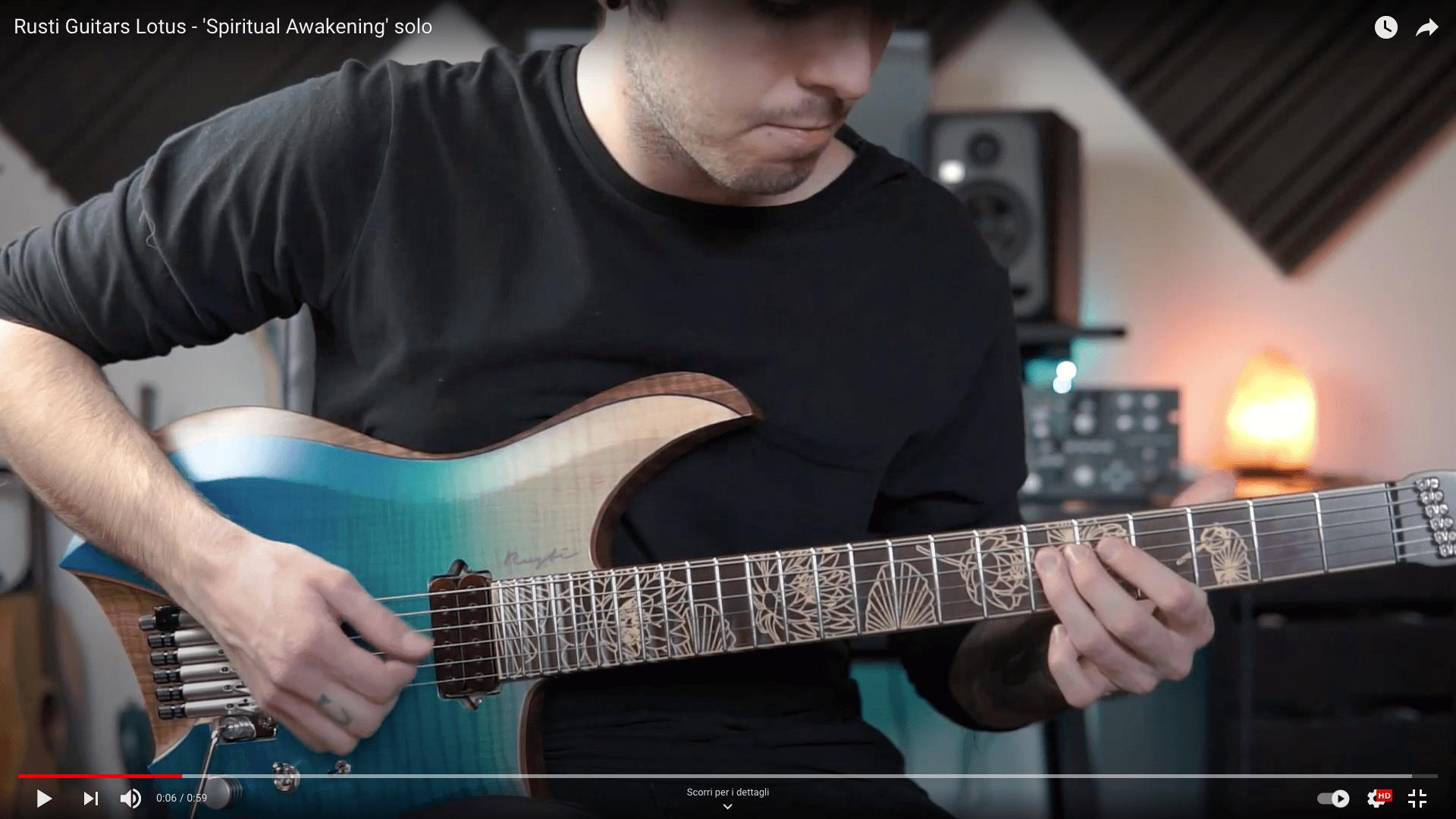 Rusti Guitars Lotus - 'Spiritual Awakening' solo