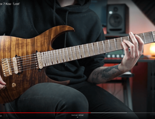 Rusti Guitars Paradox 7 Koa – 'Lost'
