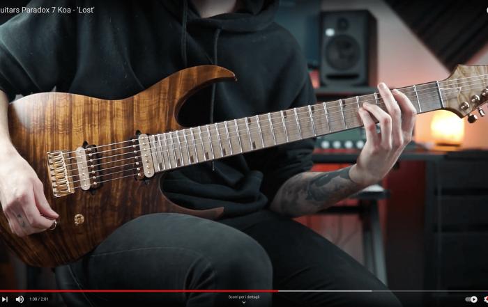Rusti Guitars Paradox 7 Koa - 'Lost'